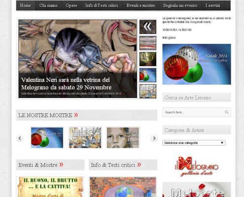 Arte livorno Il Magazine del Melograno